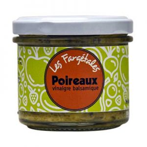 Les Farjetales poireaux vinaigre balsamique