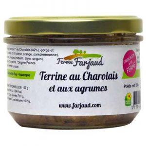 terrine au charolais et aux agrumes