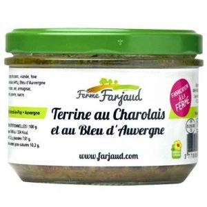 terrine au charolais et au bleu d'Auvergne