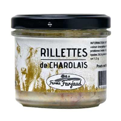 rillettes de charolais 90 g