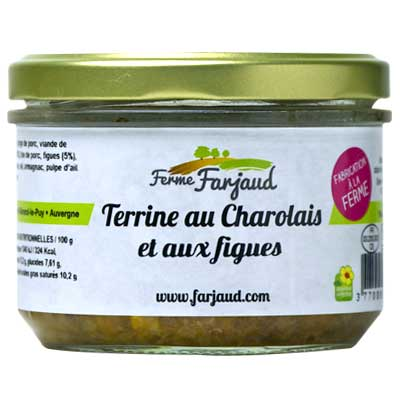 terrine au charolais et aux figues