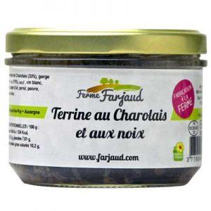 terrine au charolais et aux noix
