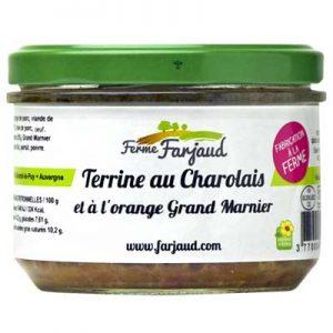 terrine charolais grand marnier et oranges confites