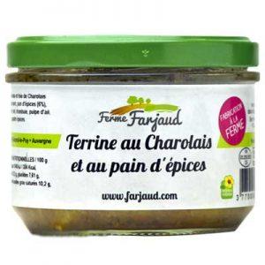 terrine de charolais au pain d'épices