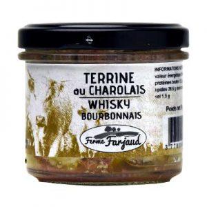 terrine au charolais au whisky du Bourbonnais